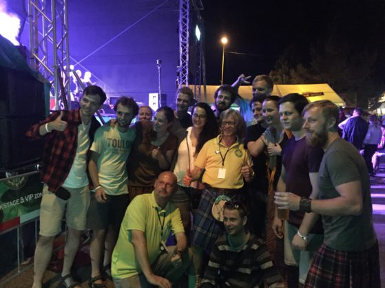 Keltska Noc Celtic festival crew
