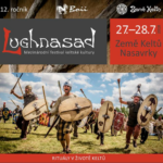 Sliotar playing in a Celtic village at the Nasavrky Lughnasad festival