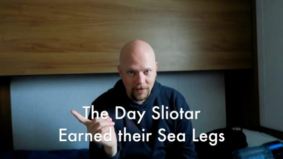 The Day Sliotar Earned their Sea Legs