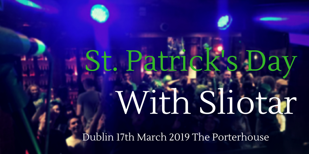 Sliotar St Patrick's day 2019